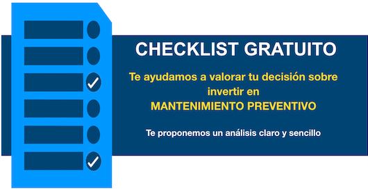 Checklist gratis: Guía del Mantenimiento Preventivo