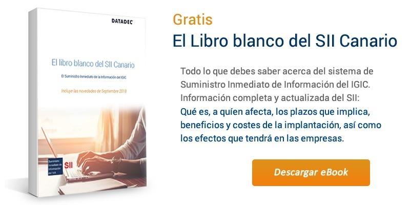 Gratis Ebook con todas las claves del SII Canario