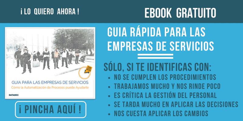 Guía gratuita Rápida para las Empresas de Servicios