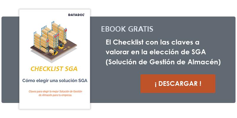 Checklist gratis para ayudarte a seleccionar la solucón SGA mas adecuada para tu empresa