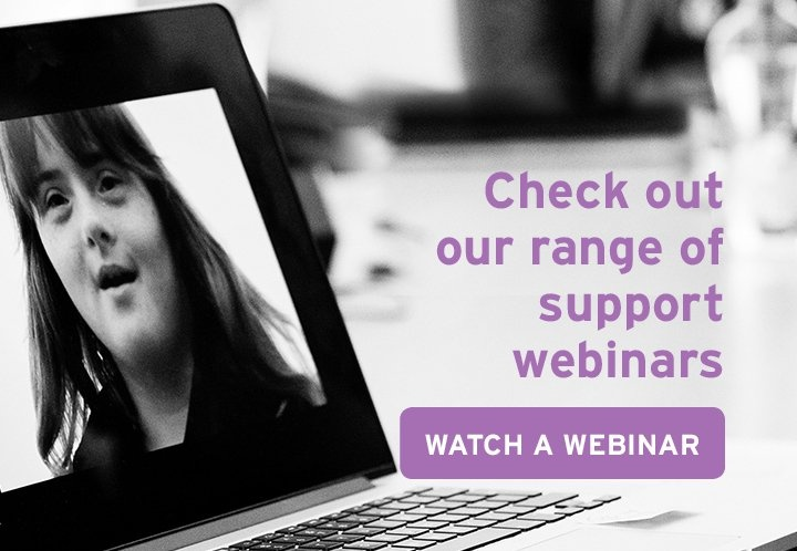 Check out our range of support webinars