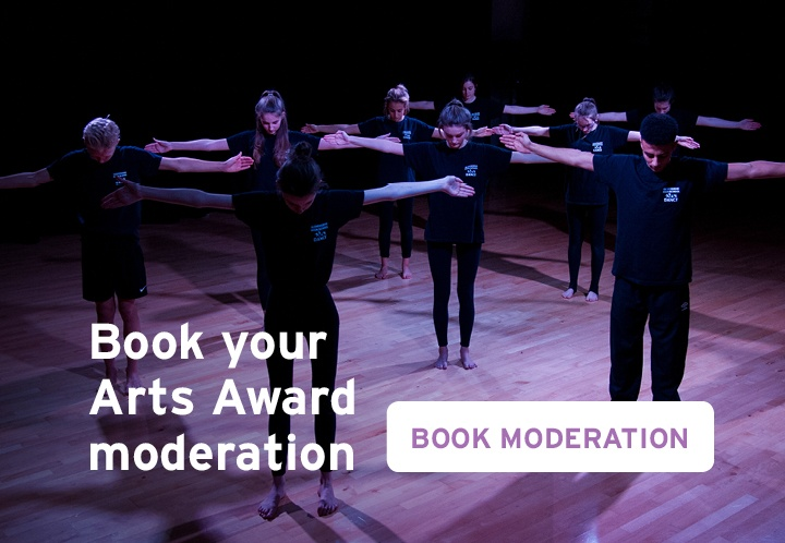 Book your Arts Award moderation