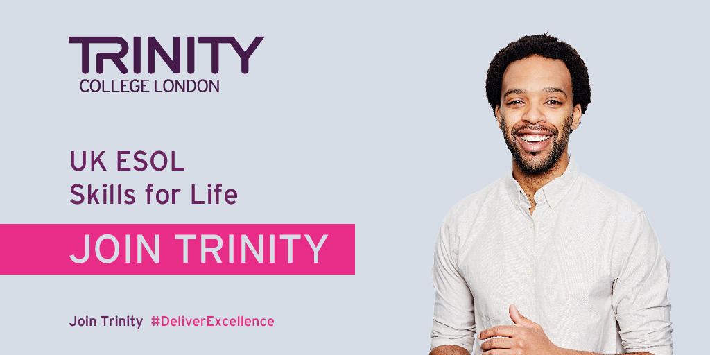 Join Trinity for ESOL Skills for Life