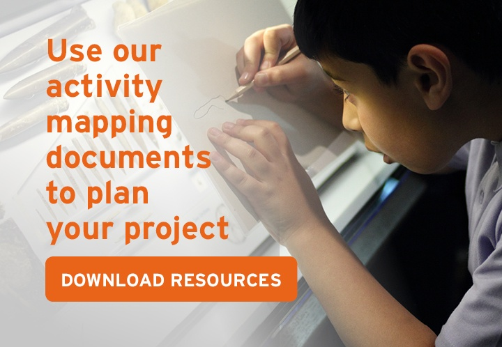 Use our activity mapping documents to plan your project