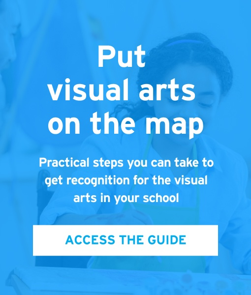 Put visual arts on the map