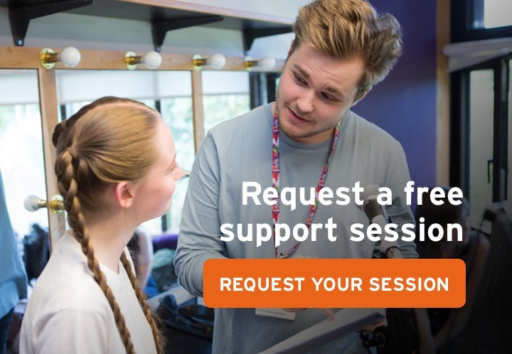 Request a free support session