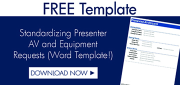 Download Free Template to Standardize AV Requests
