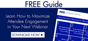 Guide to Maximizing Webinar Effectiveness