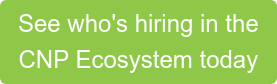See who's hiring in the CNP Ecosystem today