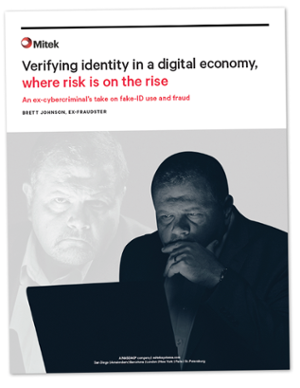 white paper | verifying identity in a digital economy, where risk is on the rise