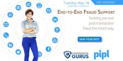 End-to-End Fraud Support Webinar
