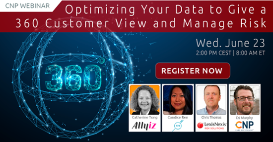 Optimizing your data to give 360 customer view and manage risk