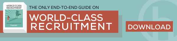 hueman world class recruitment blog cta guide