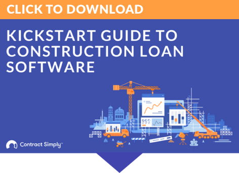Contract Simply Quickstart Guide to Construction Loan Software - Button