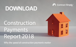 Contract Simply Construction Payments Report 2018