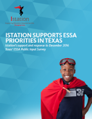 Istation and ESSA in Texas