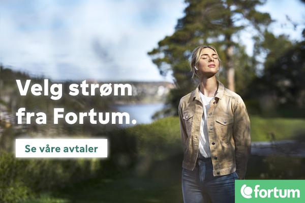 Velg strøm fra Fortum. Et enkelt valg for fremtiden.