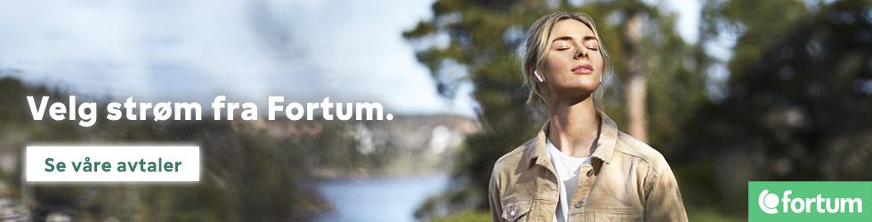 Et enkelt valg for fremtiden. Velg strøm fra Fortum.