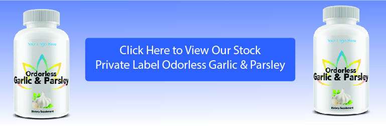 private label garlic and parsley
