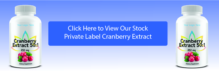private label cranberry extract
