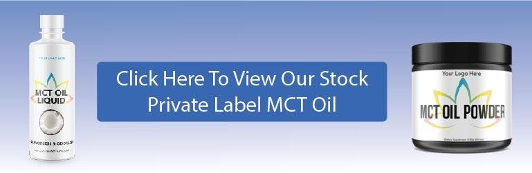 private label MCT oil