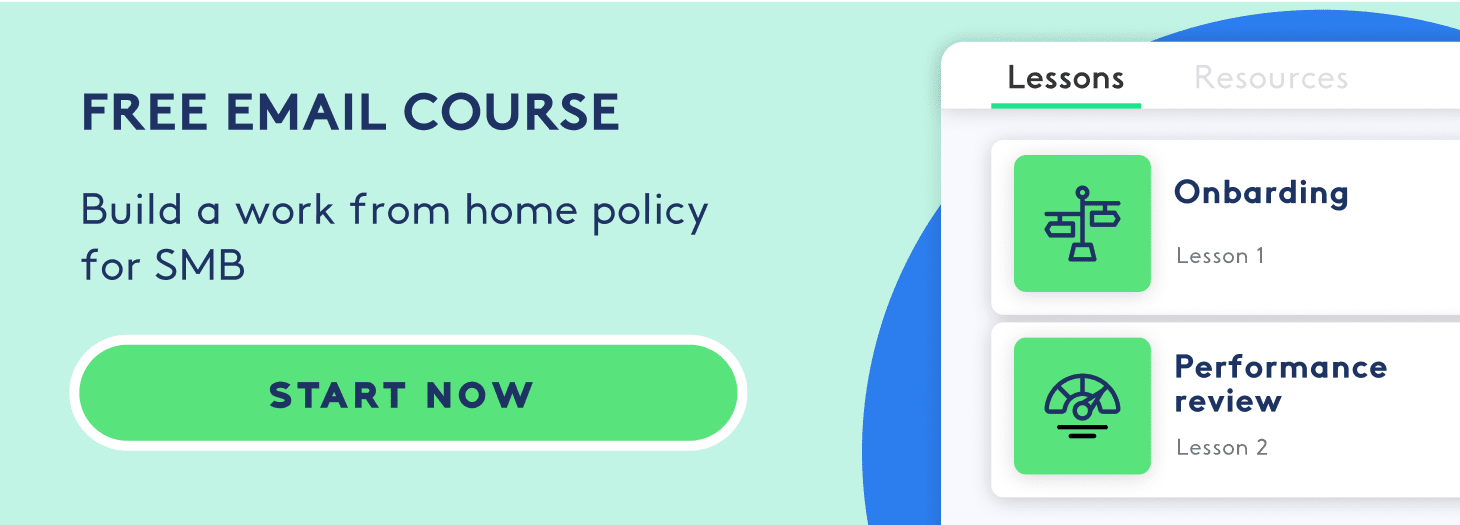 cta email course remote work
