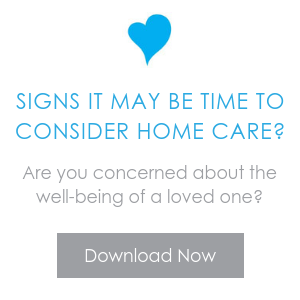 Signs it's time to consider home care. Download our checklist