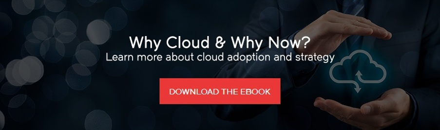 Why Cloud & Why Now?  Learn more about Cloud adoption and strategy. Download the ebook