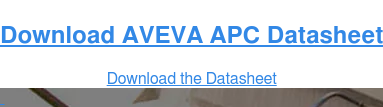 Download AVEVA APC Datasheet Download the Datasheet