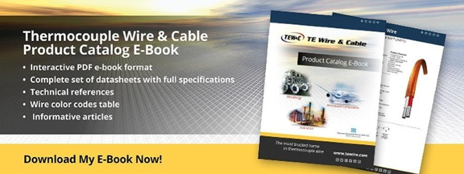 Thermocouple Wire & Cable Product Catalog E-Book