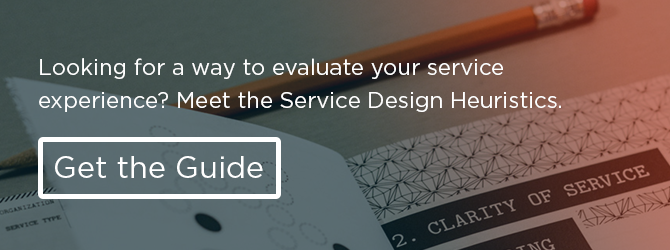 Download the Service Design Heuristics Guide
