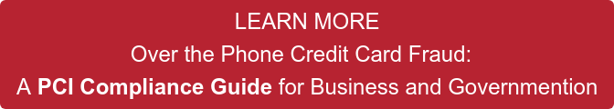 LEARN MORE Over the Phone Credit Card Fraud:   A PCI Compliance Guide for Business and Governmention