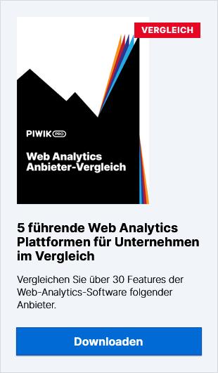 Ein Vergleich der 5 führenden Web-Analytics-Anbieter