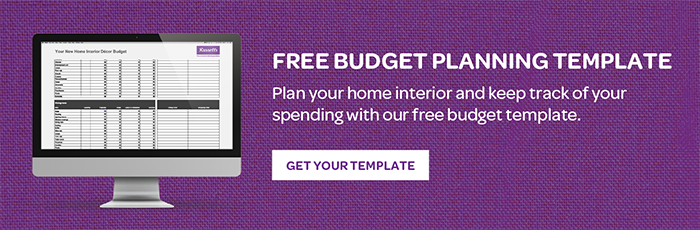 Free Home Decor Budget Planning Template