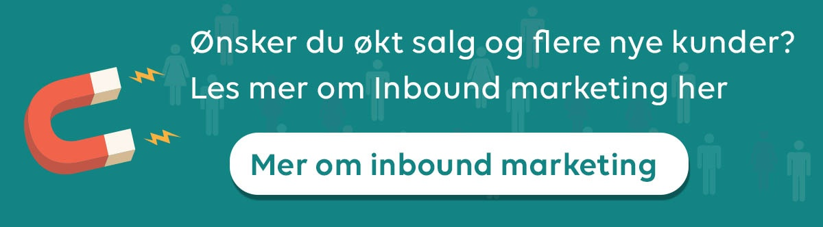 Les mer om inbound marketing