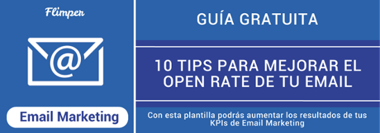 MEJORAR OPEN RATE EMAIL MARKETING