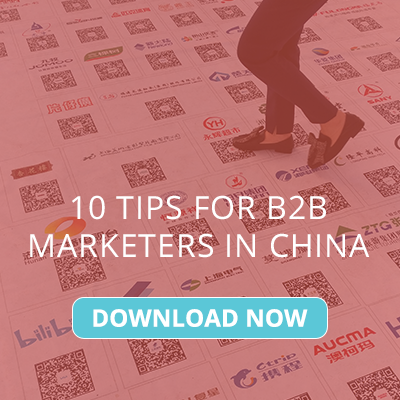 tips for b2b marketers in china