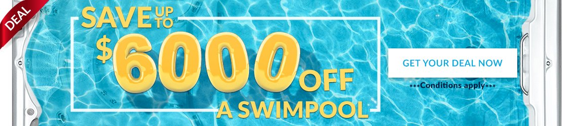 Save up to $6000 off a swimpool! Get your deal now!
