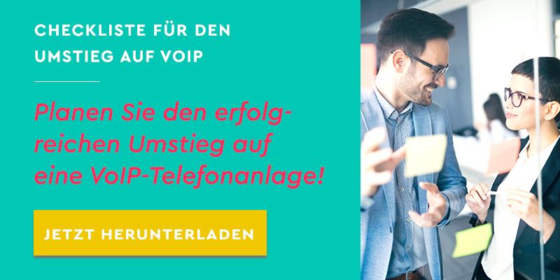 Checkliste: Planen Sie den erfolgreichen Umstieg auf eine VoIP-Telefonanlage!