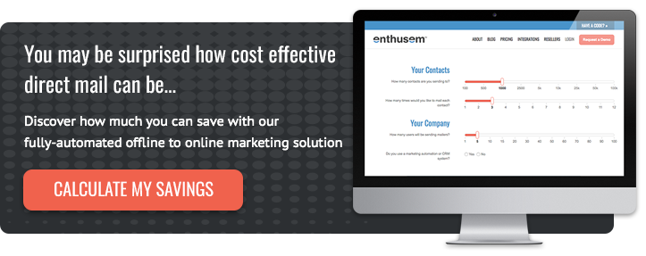 Direct Mail Pricing Calculator