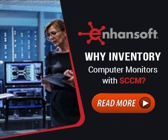 Why inventory Computer Monitors with SCCM?