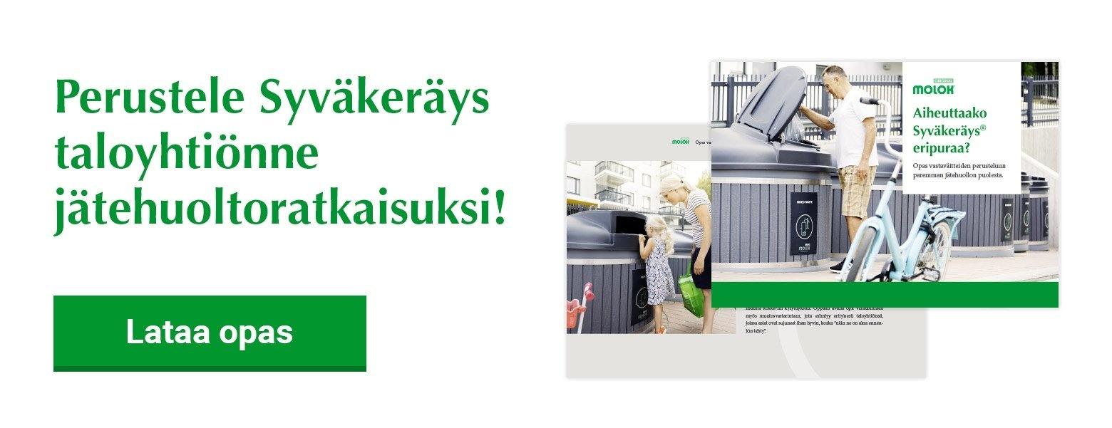 Syväkeräys taloyhtiön jätehuoltoratkaisu opas