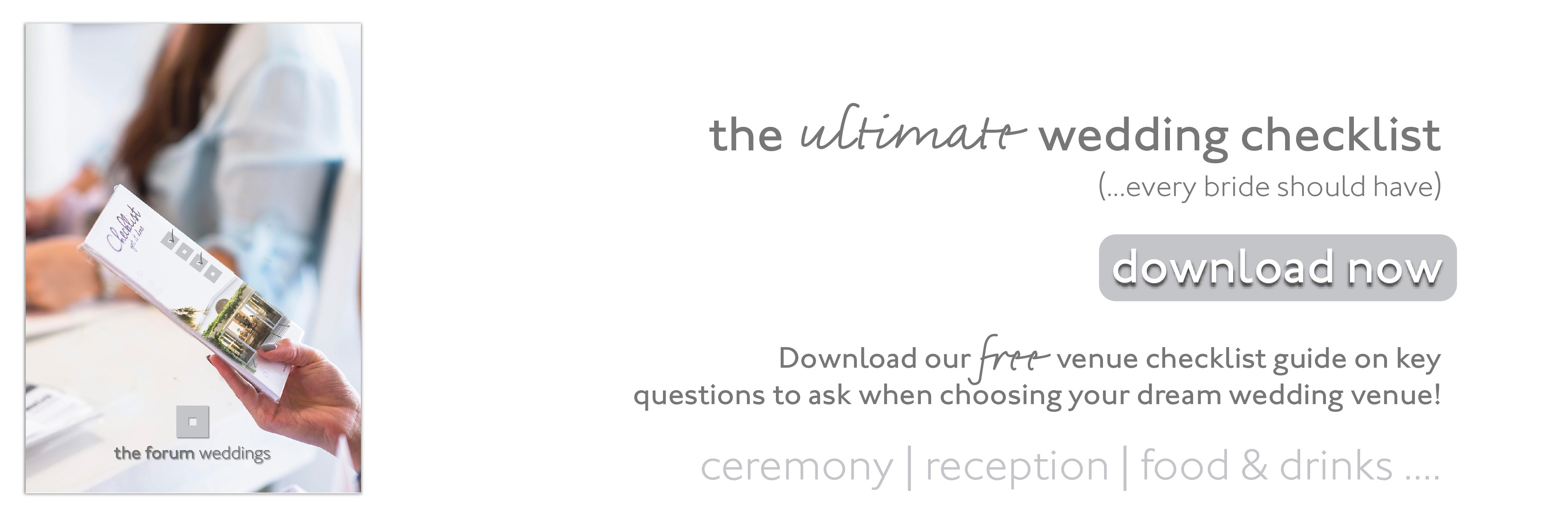 The ultimate wedding venue checklist South Africa