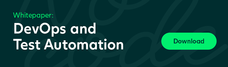 Download Whitepaper: DevOps and Test Automation