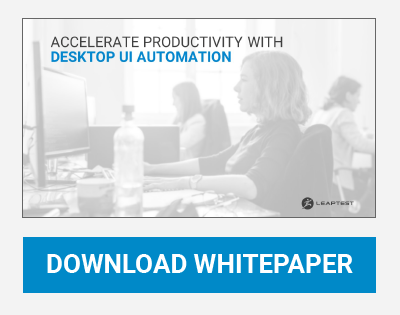 Download Whitepaper - Accelerate Productivity with Desktop UI Automation