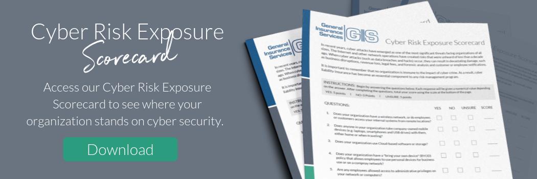 General Insurance Services Cyber Risk Exposure Scorecard
