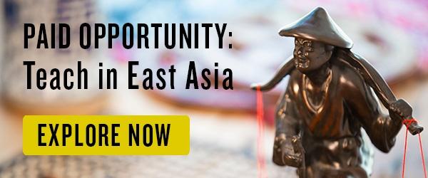 teach in east asia