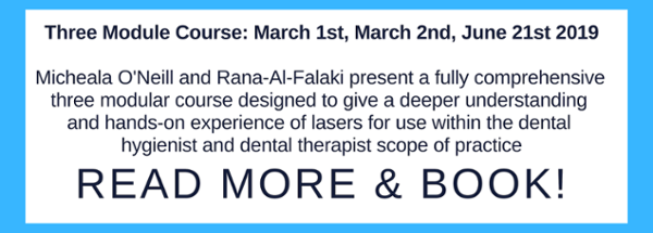 What hygienists need to know about lasers - three module course page