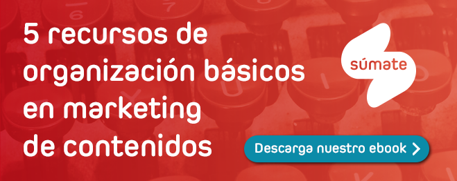 ebook recursos de organización marketing de contenidos