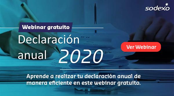 declaración anual 2020
